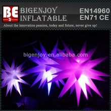 Multicolor Big Ceil Hanging Inflatable Star Party Decoration