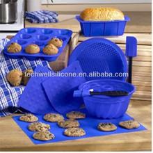 CM-704 non stick silicone children's baking set