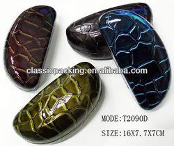 2013 new style custom eyeglass case, aluminum eyeglass cases ,reading glasses with pen case