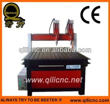 Woodworking cnc router advertisement metal QL-1325-II