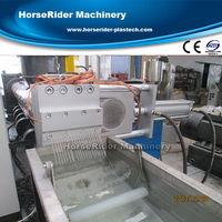 plastic recycling machine pp pe film plastic recycling granulating machine