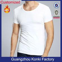 wholesale men plain 100% cotton t shirts manufacturers in china