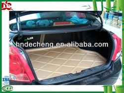 Universal rubber PVC car floor mat rubber car boot mats