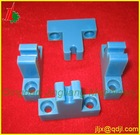 cnc plastic machining also PMMA material and POM material