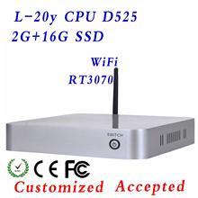 windows 7 thin client with 32 bit ,two Lan port diy pc ,mini pc windows low radiation ,custom !!!