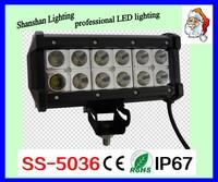China factory Double row 24w 36w 60w 120w 180w 240w 288w off road led light bar for car accessory