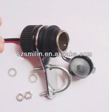 Motorcycle Cigarette Lighter Power Supply 12 Volt Weatherproof Socket Adaptor(insured)