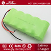 Long cycle life C 6v Ni-Mh rechargeable battery pack