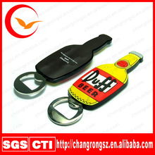pvc paint can and bottle opener/soft plastic paint can openers and bottle opener/plastic cans bottles and cartoons opener
