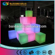 RGB 16 Color change waterproof led ice cube lighting exporter
