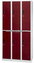 luoyang fenglong low price steel almirah wardrobe cupboard locker