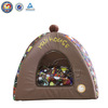 Fleece dog house cage&indoor cat house
