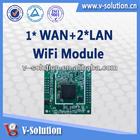 1WAN+2LAN 11n 1T1R ralink Wireless Router Board WiFi Router Module Wifi Module