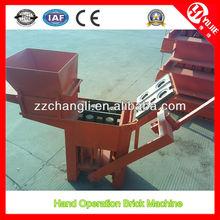 QM2-40 Manual Clay Brick Making Machine for Sale