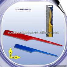 Popular Hot Color Long Handled Hair Comb
