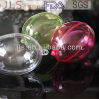 50mm small clear plastic packaging boxes