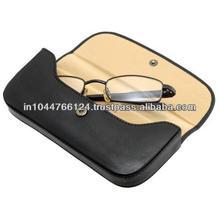 ADASGC - 0042 custom wholesale eyeglasses case / handmade leather spectacle case / beautiful soft spectacle cases
