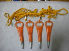 lanyard twist beer opener pen