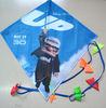 Promotional diamond flying kite