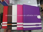 2014 hot sale pu leather smart case for ipad mini