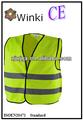 amarillo velcrotamaño de emergencia sin mangas de la prenda se ajusta a eniso20471