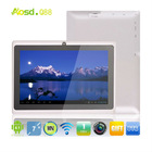 """Factory supply 7"""" gaming tablet android touch allwinner a13 q88."""