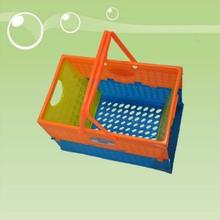 Wholesale plastic storage handle laundry basket