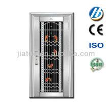 SS-51 steel stainless prevent sound pooja doors with gods doors