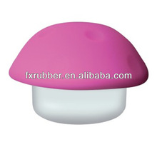 Romantic translucent colorful silicone lamp-chimney