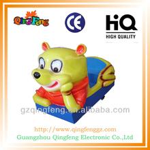 Yp-qf048 exterior de la diversión electrónica animados coche de carreras para los niños máquina de juego