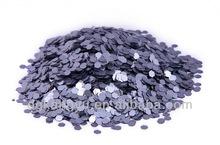 popular purple santa hat decoration glitter powder