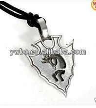 wholesale alibaba shield and triangle shape pendant necklace (A110622)