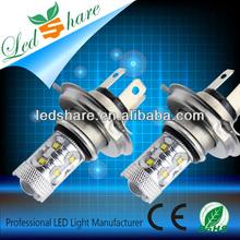 super bright high power 60w H4 automobile led