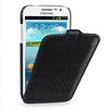 OEM Premium Leather Case for Samsung Galaxy Win I8552 / I8550 -- Troyes (Wild: Black Croc)