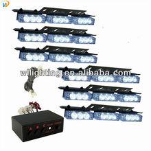 54 White Led Ultra Bright Strobe Universal Light Bars Emergency/Warning Kit