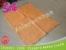 TL-R314 factory directly orange plastic Raschel Mesh produce vegetale bags