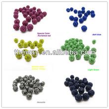 10mm size Multicolor Shamballa loose beads Wholesale