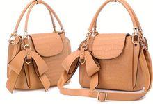 Korean fashion handbag trendy handbags suede leather handbags