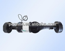 electric vehicle 48v 800w brushless dc motor with gear box and rear axle