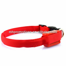 Nylon LED Dog Leashes/Retractable Dog Harness LED/LED Dog Collar