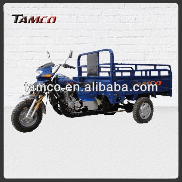250cc giant gas powered three wheel electric cargo bike