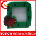 Pvc maleável molduras magnéticas, borracha pvc bonito photo frame, moda pvc silicone molduras