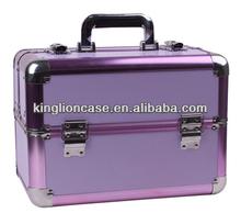 portable travel purples makeup case KL-MC158