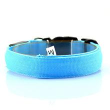 NEW LED Dog Collar Night Safety Pet Flashing Light Adjustable Cat Collar