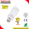 China E27B22 base half spiral energy saving lamp tube