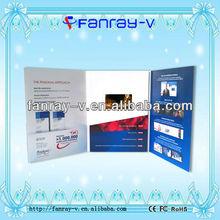 2013 tft video display brochure/birthday cards display gift