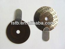 Bimetálico disco de control de temperatura para de vapor de hierro