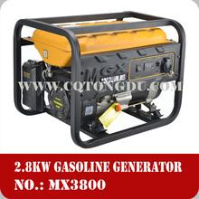 200cc electric starter 3 kva 6.5HP gasoline generator 3800