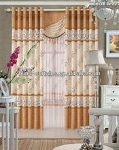 2014 Hot sale the new jacquard latest fashion curtain designs