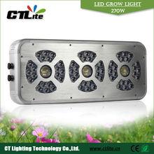 2013 hot sell powerful silent fan full spectrum 3w uv led grow lights